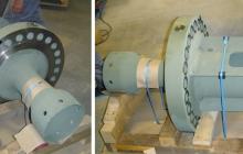 Клапанно тяло за парна турбина