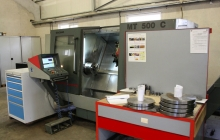 CNC Lathe with Driven Tools