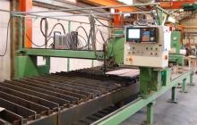 CNC Gas und Plasma Brennschneidemaschine